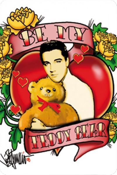 Elvis Be my Teddy Bear