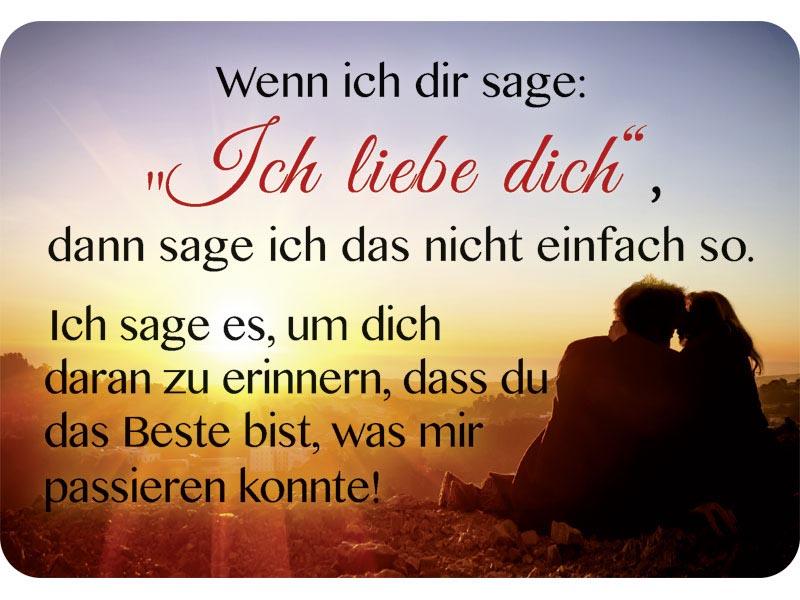 Kulthanger Blechschild Ich Liebe Dich Kh003 Spruche Lustiges