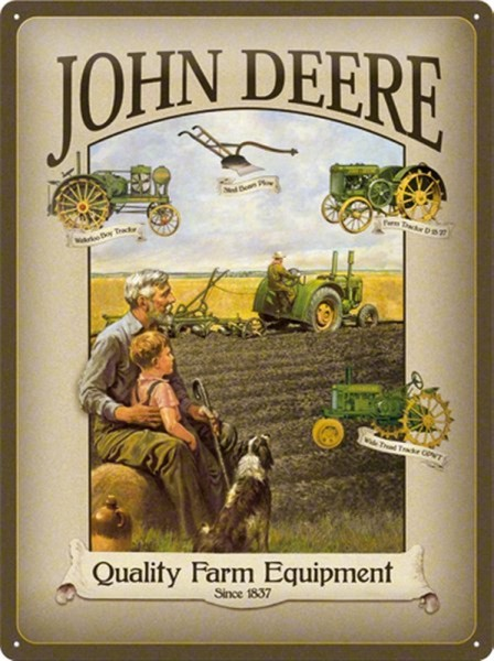 John Deere Farm Equipment