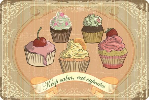 Keep calm, eat cupcakes