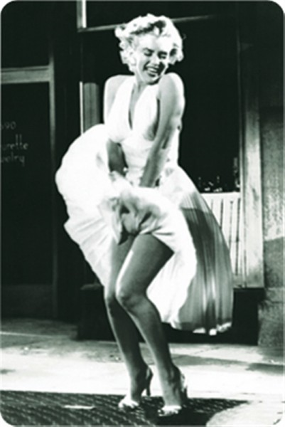 Marilyn Monroe Belüftungsgitter