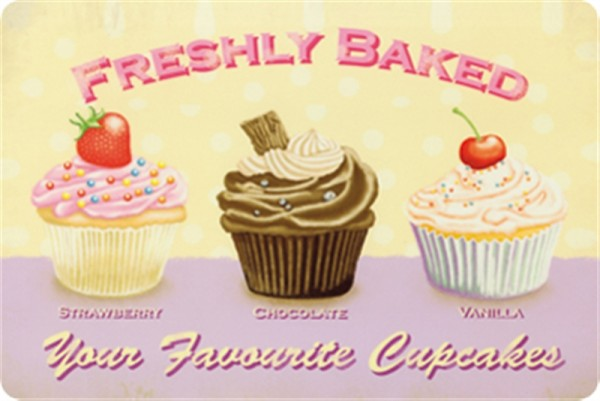 Freshly baked your favorite cupcakes