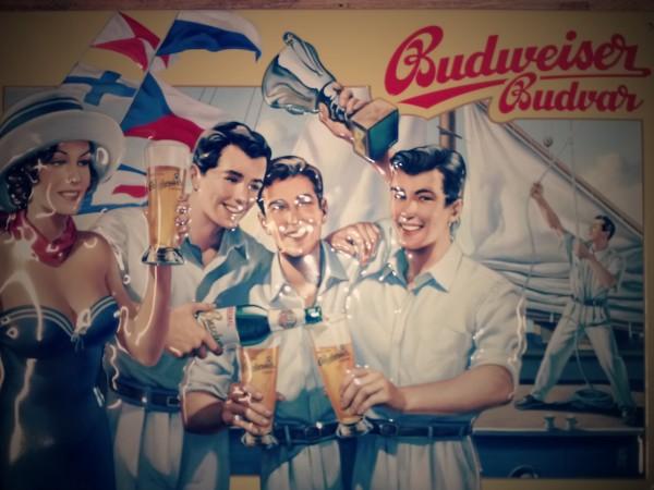 Budweiser Segelschiff